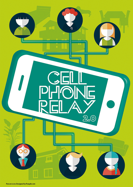 CELL PHONE RELAY 2.0|Yomiuri Telecasting Corporation (YTV)