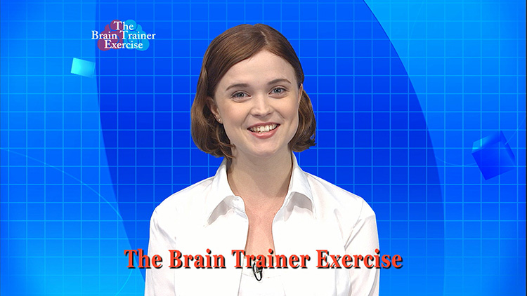 The Brain Trainer Exercise | Sendai Television Incorporated