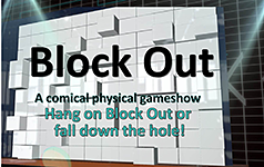 "[NIPPON TV] ""BLOCK OUT"" - a comical physical game show- licensed to Zense Entertainment, Thailand."